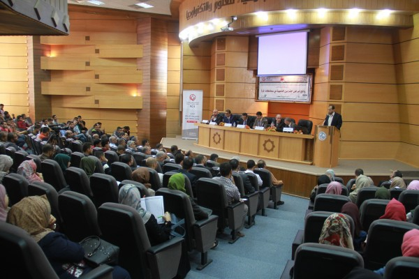 "Science and Technology organizes a medical day entitled ""coronary artery disease in the governorates of Gaza"""